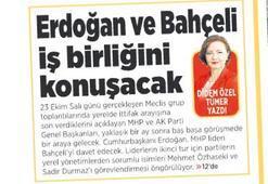 Erdoğan-Bahçeli zirvesi bugün: Temennim iyi bir sonuca varmak