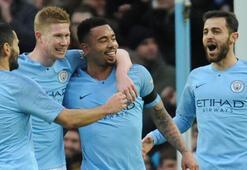 Manchester City kupada zorlanmadı: 5-0