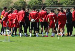 Sivasspor, 4 oyuncusundan yoksun çalıştı