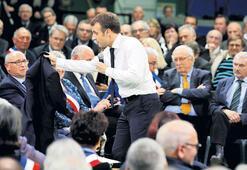 Macron müzakere turlarına başladı