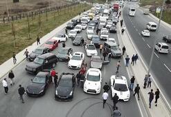 İstanbulun göbeğinde lüks otomobil terörü