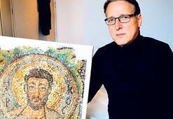 Kayıp Aziz Mark mozaiği  Kıbrıs'a döndü