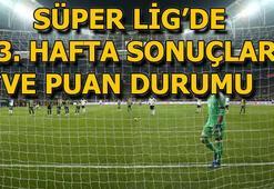 Süper Ligde 23. hafta puan durumu ve toplu sonuçlar | Süper Lig 24. hafta fikstürü