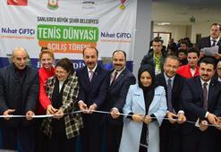 Şanlıurfada tenis tesisi açıldı