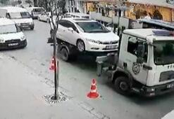 İçinde çocuğu varken otomobilini çektiler... O polis hakkında flaş karar