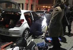 İzmirde otomobile silahlı saldırı: 1 yaralı