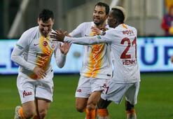Galatasaraydan altın değerinde üç puan Göztepe - Galatasaray: 0-1
