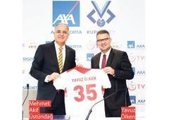 Kupa Voley'in isim sponsoru AXA Sigorta