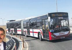 İzmir'de otobüs şoförleri dertli