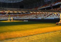Yeni Malatya Stadının zemini denetlendi