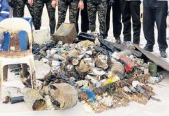 Denizin dibinde bir ev dolusu çöp