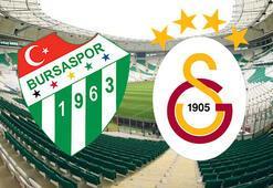 Bursaspor Galatasaray maçı ne zaman saat kaçta hangi kanalda yayınlanacak