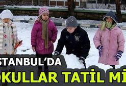 İstanbulda bugün 26 Şubatta okullar tatil mi Valilik açıkladı mı