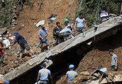Filipinlerde bilanço ağırlaşıyor Heyelanda ölenlerin sayısı 36ya yükseldi