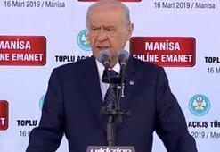 MHP lideri Bahçeli: Türk Milletinin tercihidir