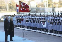 Hırvatistan Cumhurbaşkanı Kitaroviç Ankarada