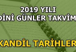 Dini günler takvimi 2019 Bayram ve kandil tarihleri