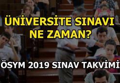 YKS ne zaman yapılacak ÖSYM 2019 sınav takvimini yayınladı