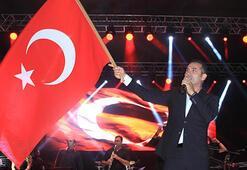 Çeşmenin kurtuluş yıl dönümünde Ferhat Göçer konseri
