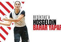 Beşiktaş Kadın Basketbol Takımı Bahar Yapar ile anlaştı