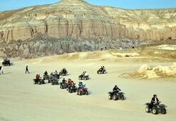 Kapadokyaya turistlerden yoğun ilgi