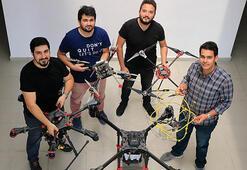 Genç girişimcilerden hayatı kolaylaştıran dronelar