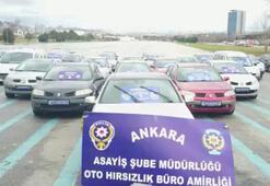 600 bin liralık vurgun yapan oto hırsızlık çetesi çökertildi