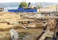 Üniversite inşaatında tarihi kalıntı bulundu