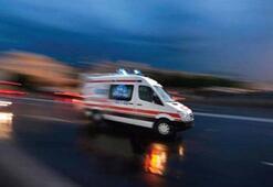 Siirtte yolcu minibüsü devrildi: 11 yaralı
