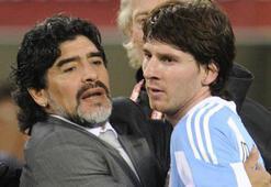 Maradonadan Messiye ağır eleştiri