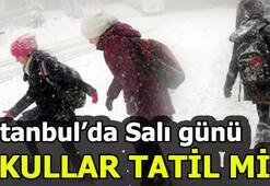 İstanbulda okullar yarın tatil olacak mı Valilik açıklama yaptı mı
