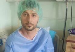 Abdulkadir Parmakın kuzeni Ahmet Bozali hasta yatağında dua istiyor