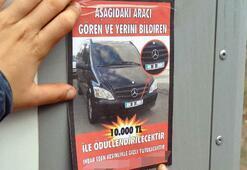 Kaybolan makam aracını bulana 10 bin lira ödül