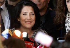 Salome Zurabişvili Gürcistanın ilk kadın cumhurbaşkanı oldu