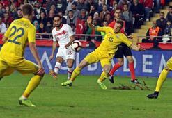 Türkiye - Ukrayna: 0-0 (İşte maçın özeti)