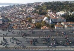 Vodafone İstanbul Maratonundan kareler...