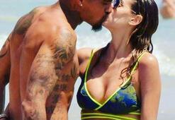 Boatengi sakatlayan Melissa Satta: Ronaldo da kim