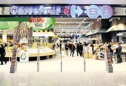 12 milyon TL'ye hipermarket açtı