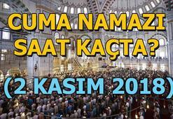 Cuma namazı saat kaçta 2 Kasım il il Cuma namazı vakitleri