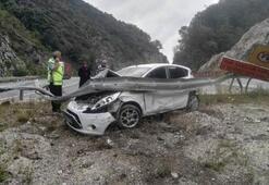 AK Partili vekilin babası kaza geçirdi