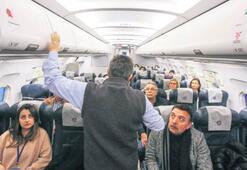 Uçak korkularını 2 günde yendiler