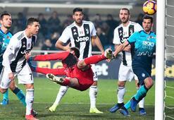 Juventus 1 puanı Ronaldonun golüyle kurtardı