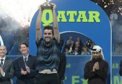 Katar Açıkta şampiyon Agut