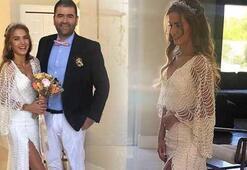 Ceyda Ateş ile Buğra Toplusoy ABDde evlendi
