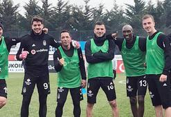 Beşiktaşta Konyaspor hazırlıkları devam etti