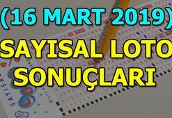 Sayısal Loto sonuçları açıklandı 16 Mart MPİ Sayısal Loto çekiliş sonuç sorgulama ekranı