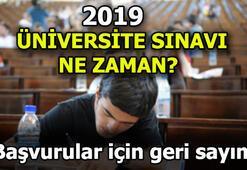 2019 YKS ne zaman Üniversite sınavı başvuruları başladı mı