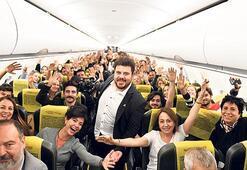Uçakta stand-up