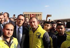 Fenerbahçeliler Atatürkün huzurunda