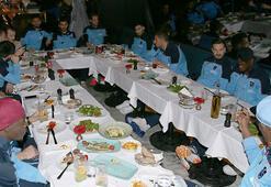 Trabzonsporda yönetim, futbol takımıyla yemekte buluştu
